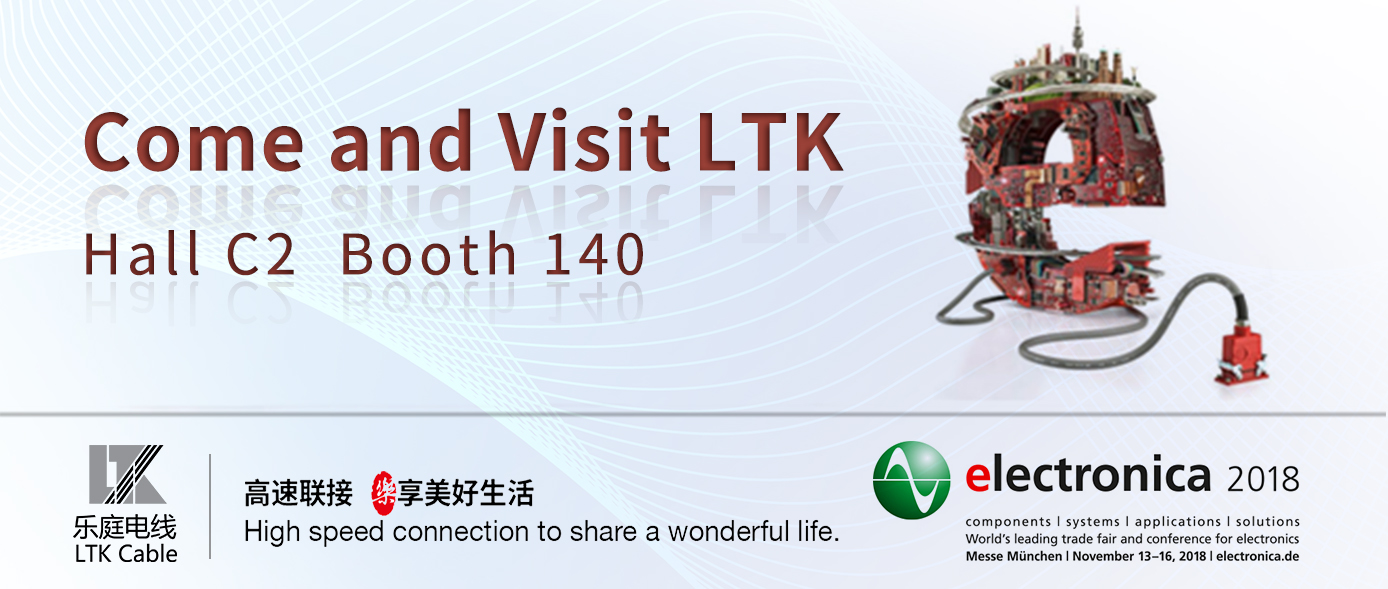 Visit LTK at Electronica 2018, Booth C2 140